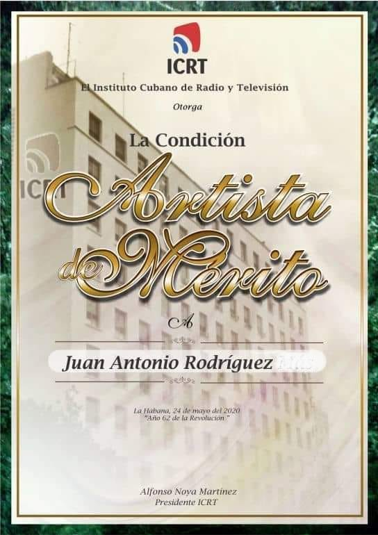 Artista De Mrito.jan Antonio
